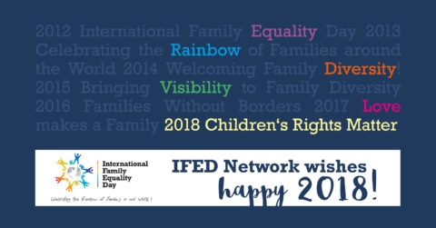 IFED PRESS RELEASE: International Family Equality Day 2018: «Children's rights matter»