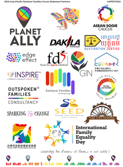 APRFF2018 Statement in honour of the Global Day of Parents