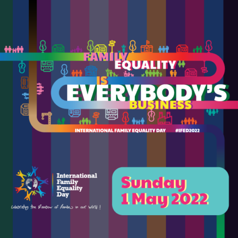 International Family Equality Day: IFED-motto 2022 and World Pride participation